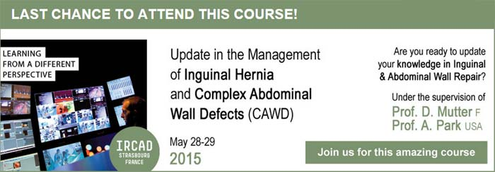 Advanced Course in Inguinal and Abdominal Wall Hernia